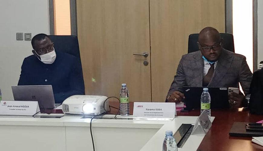 Communications Electroniques : partage d'expérience entre l'ARPCE et l'ARPT de la Guinée Conakry