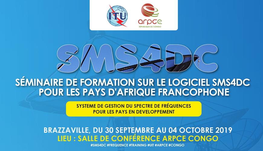 Télécommunications : Le Congo accueille  l'atelier de notification et le séminaire de formation sur le SMS4DC en Français