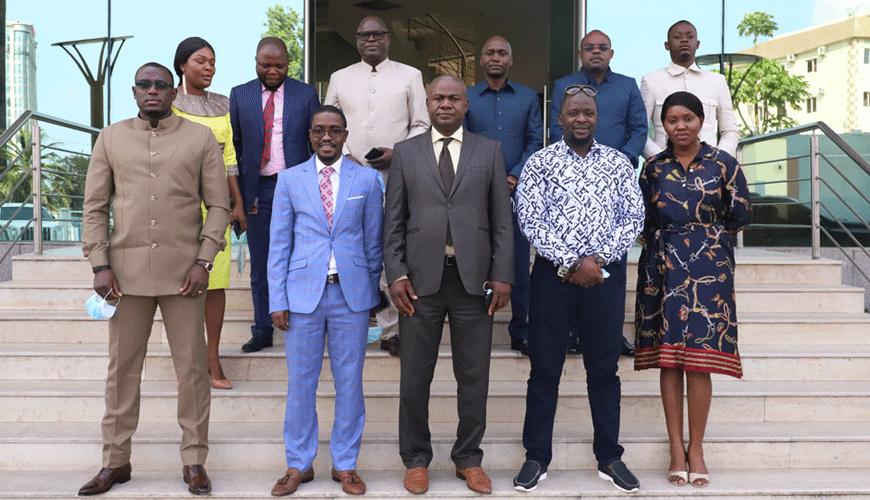 Postes et Télécommunications : Une équipe de l'Autorité de Régulation de Guinée Conakry en mission de  benchmark à Brazzaville