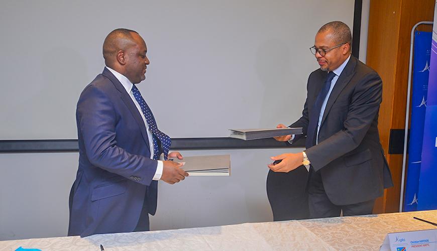 Télécommunications: Le Congo Brazzaville et la RDC signe un protocole d'accord pour une gestion commune des réseaux transfrontaliers